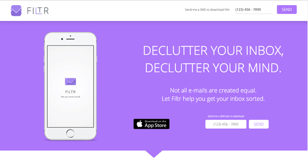 Filter Homepage