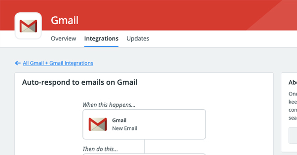 Gmail and Zapier Autorespond
