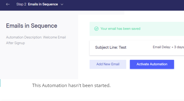 Benchmark Email Sequence Automation